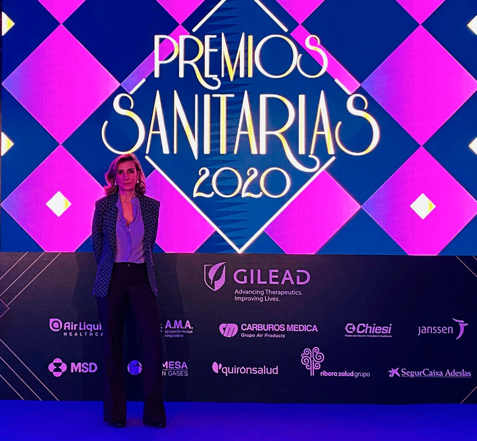 Dra Serrano Premios Sanitarias